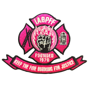 IABPFF PINK PATCH 4 inch