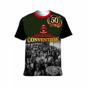 Full Color Sublimated 50th Anniversary Black