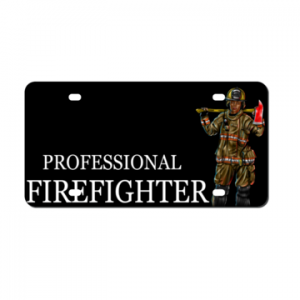 Professional Female Fighter Plate