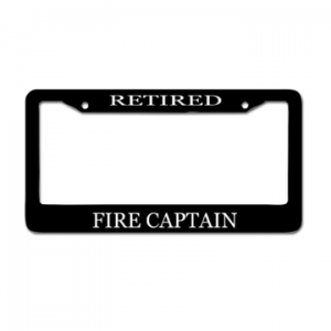 Retired Captain Plate Cover
